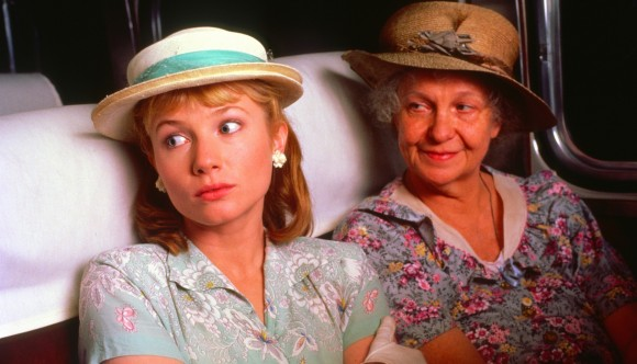 The Trip to Bountiful (1985)Directed by Peter MastersonShown from left: Rebecca De Mornay, Geraldine Page
